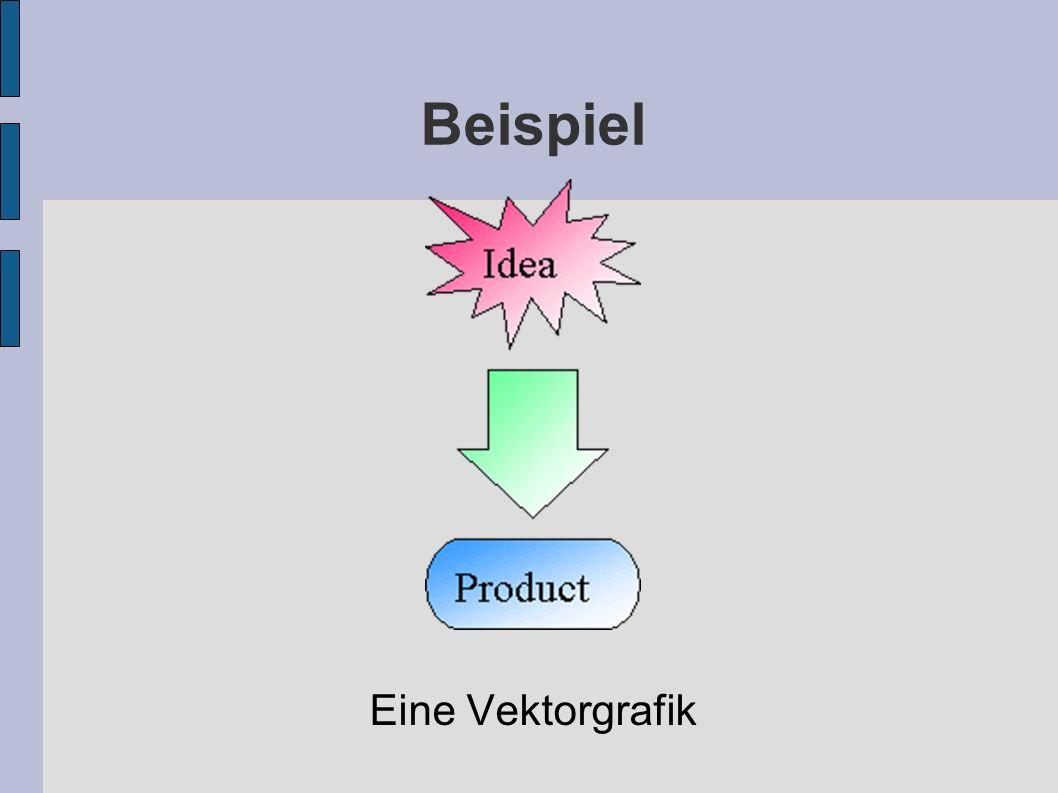 Beispiel Eine Vektorgrafik