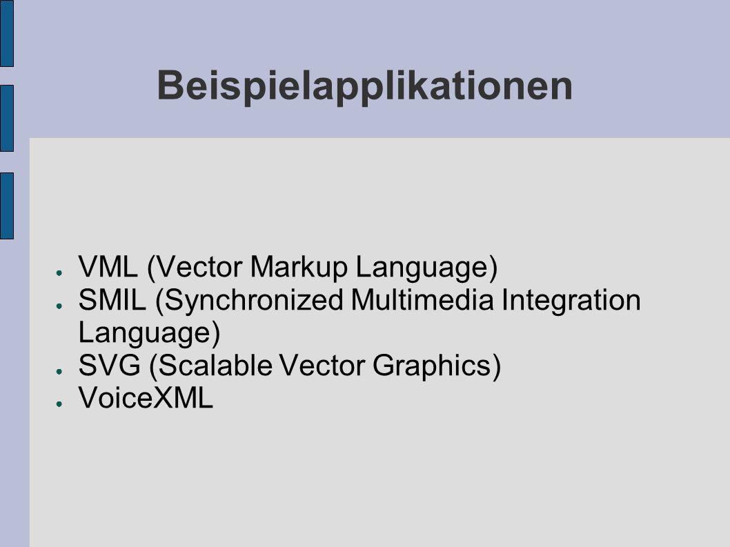 VML Vector Markup Language