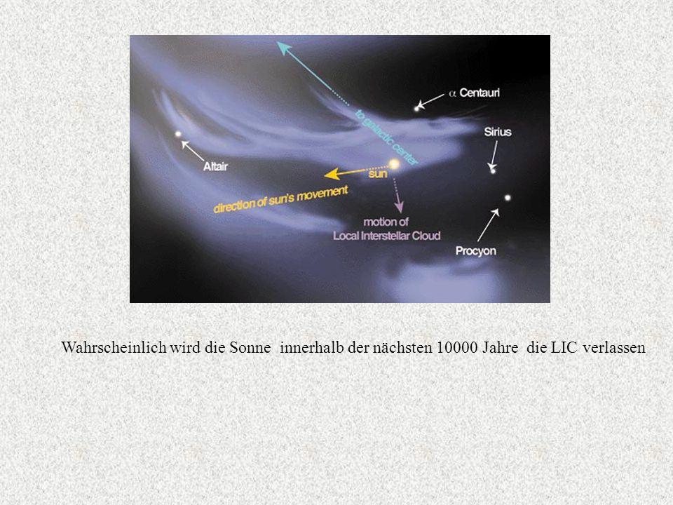 Daten der Sonne: - Masse: 332830 Erdmassen - 73% H, 25% He, 2% schwerere Elemente - Radius: 695000 km - Oberflächentemperatur 5700 K - Kerntemperatur 15,6 Millionen K - Kerndruck 300 Milliarden Bar - Wasserstoffverbrauch 564 Millionen t/Sekunde - Masseverlust 5 Millionen t/ Sekunde - Energie braucht 150000 Jahre, um vom Kern an die Oberfläche zu gelangen Die kleinste Masse eines sichtbaren Sternes ist 0,07 M 0.