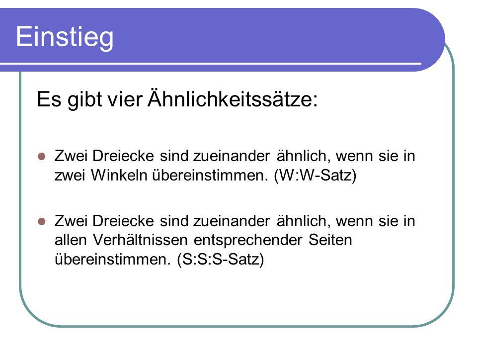 Sinussatz Für beliebige Dreiecke gilt der Sinussatz: