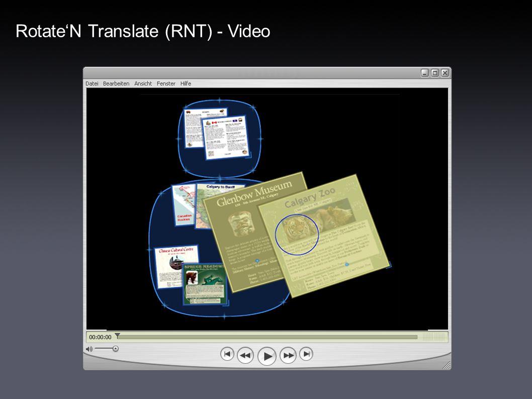 RotateN Translate (RNT) - Evaluation Evaluationsergebnisse RNT vs.