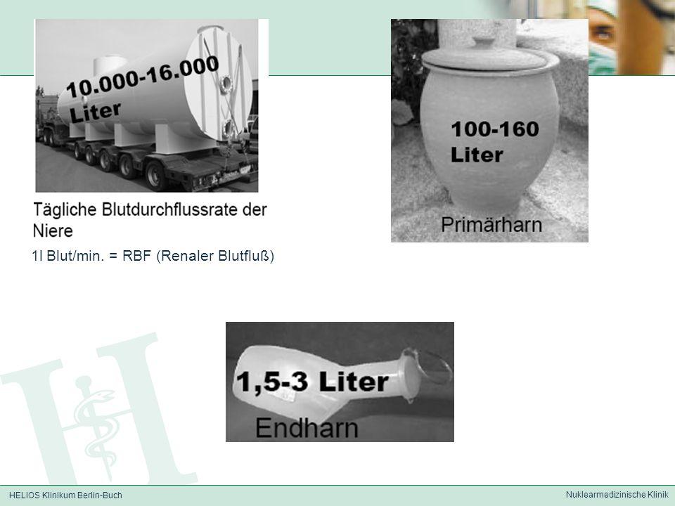 HELIOS Klinikum Berlin-Buch Nuklearmedizinische Klinik Senkniere (Wanderniere) links
