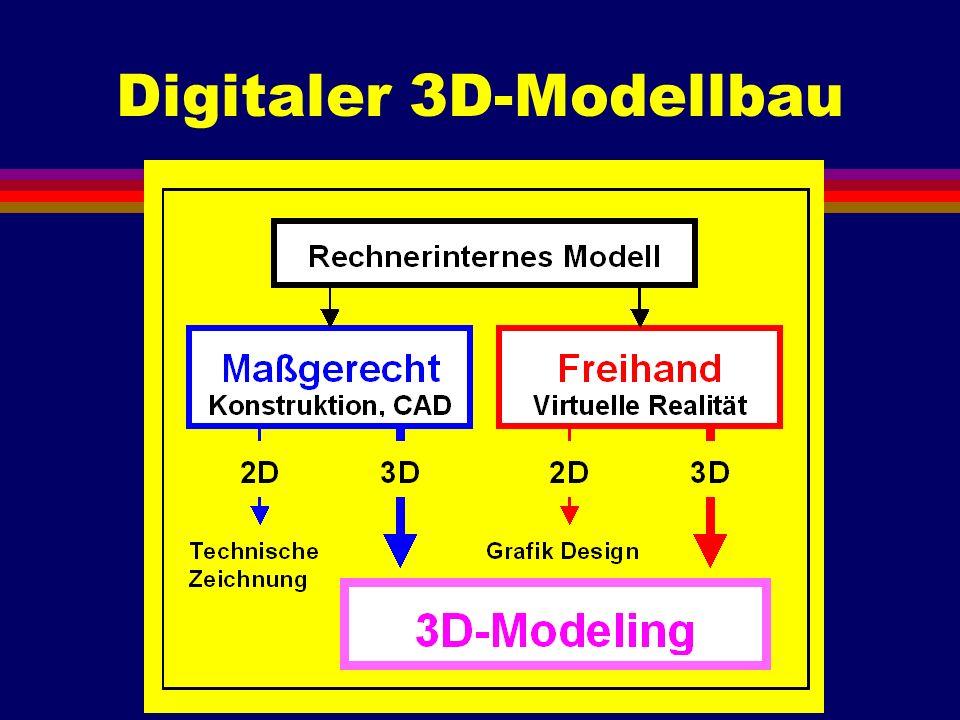 Digitaler 3D-Modellbau