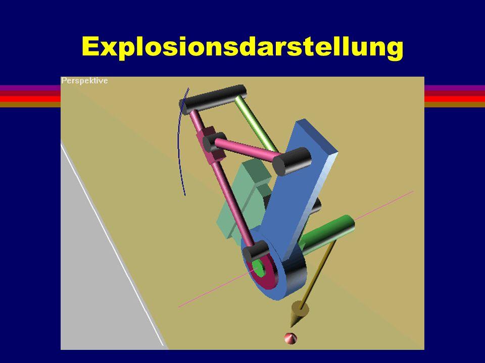 Explosionsdarstellung