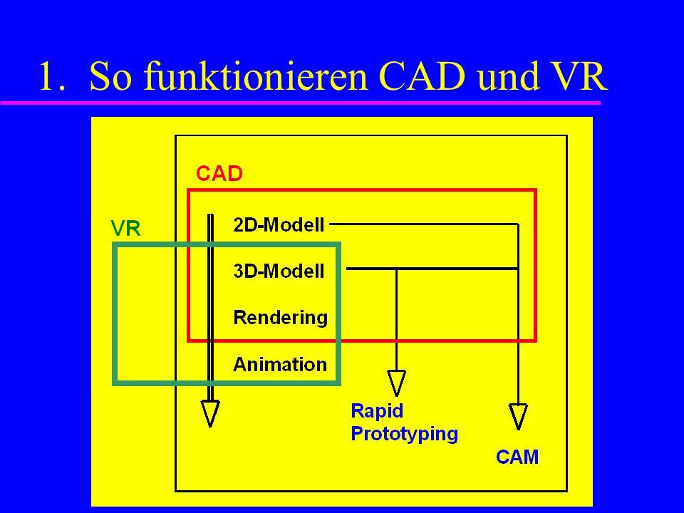 1. So funktionieren CAD und VR