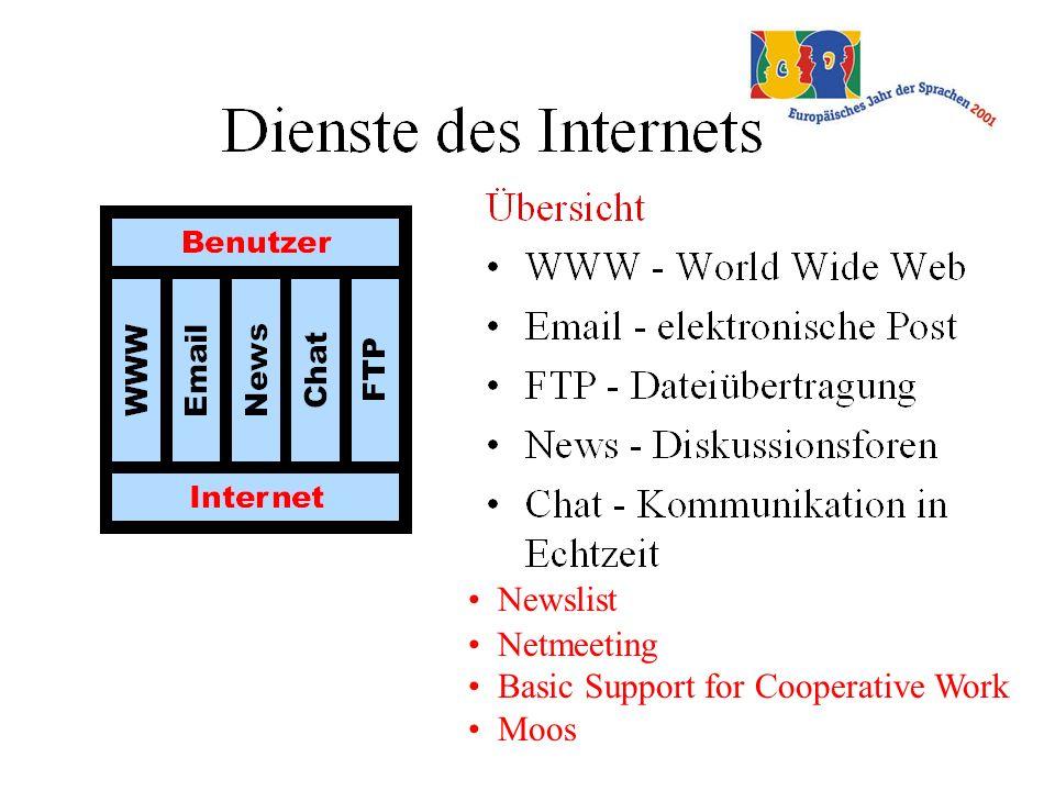 nach Rüschoff gibt es 4 Anwendungsgruppen: Tutoriell orientierte Anwendungen Anwendung als Ressource für den FU Werkzeuganwendungen Telekommunikationsanwendungen