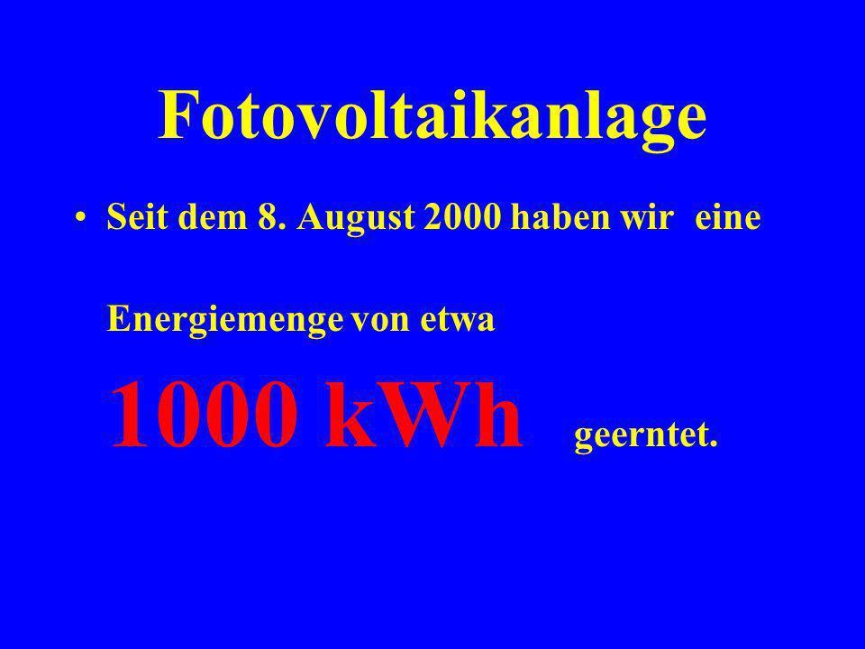 Fotovoltaikanlage