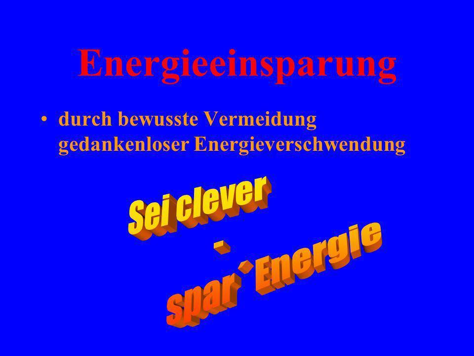 Erste Erfolge bei der Einsparung von Heizenergie