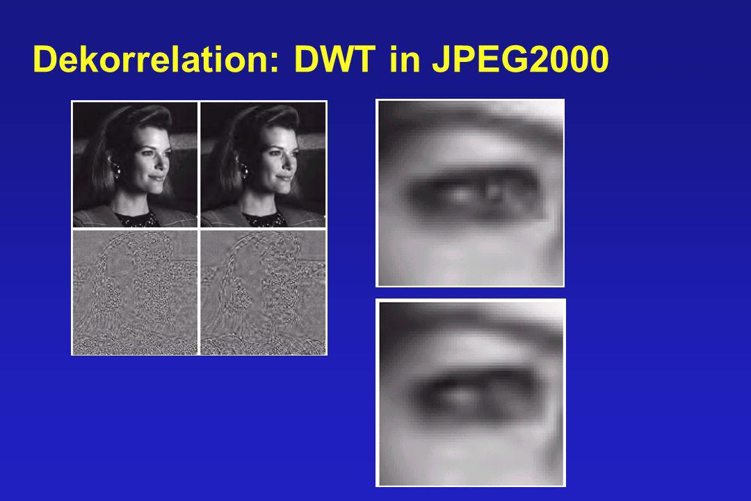 DWT vs. DCT