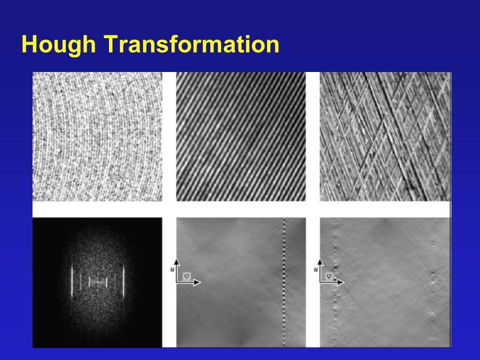46/90 Hough Transformation