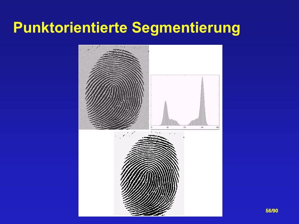 56/90 Punktorientierte Segmentierung