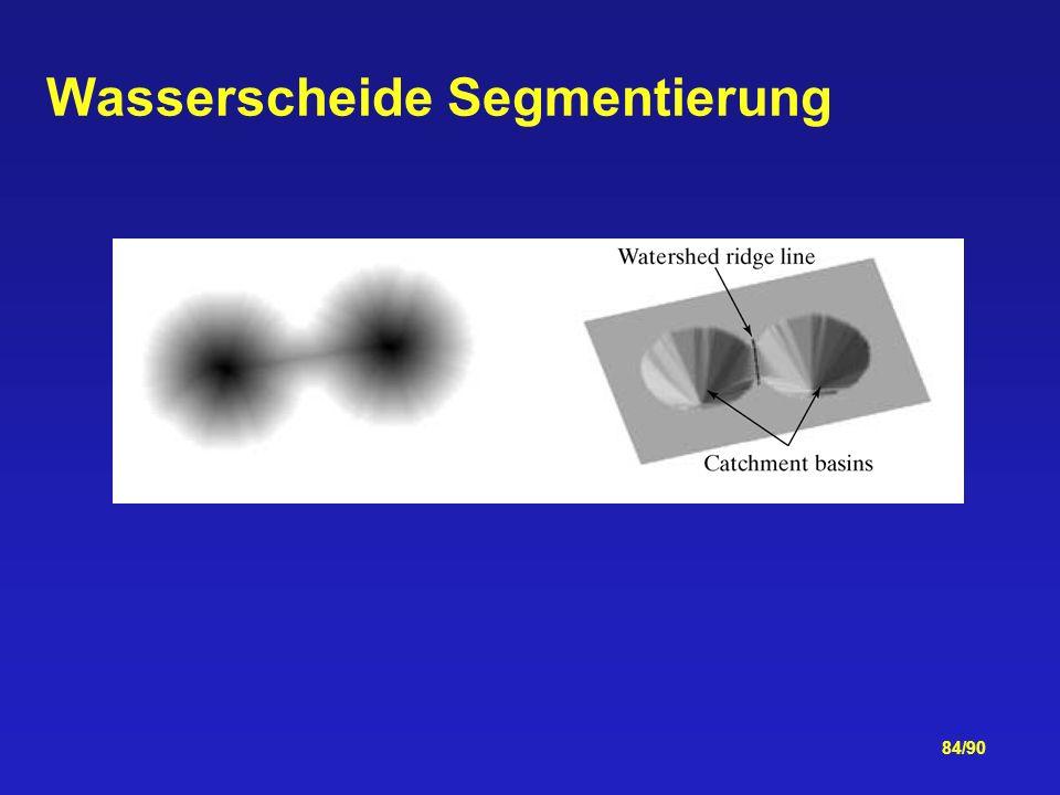 84/90 Wasserscheide Segmentierung