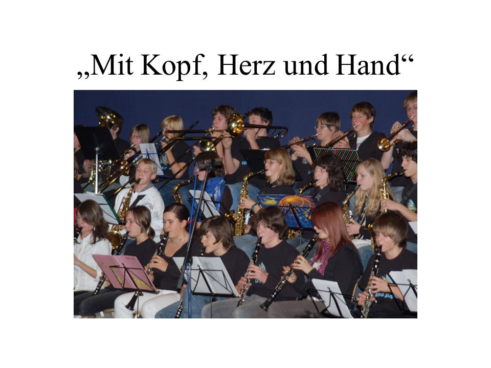 Das Profil In Klasse 8 Wahl des Musikprofils (Alternativen: 3.