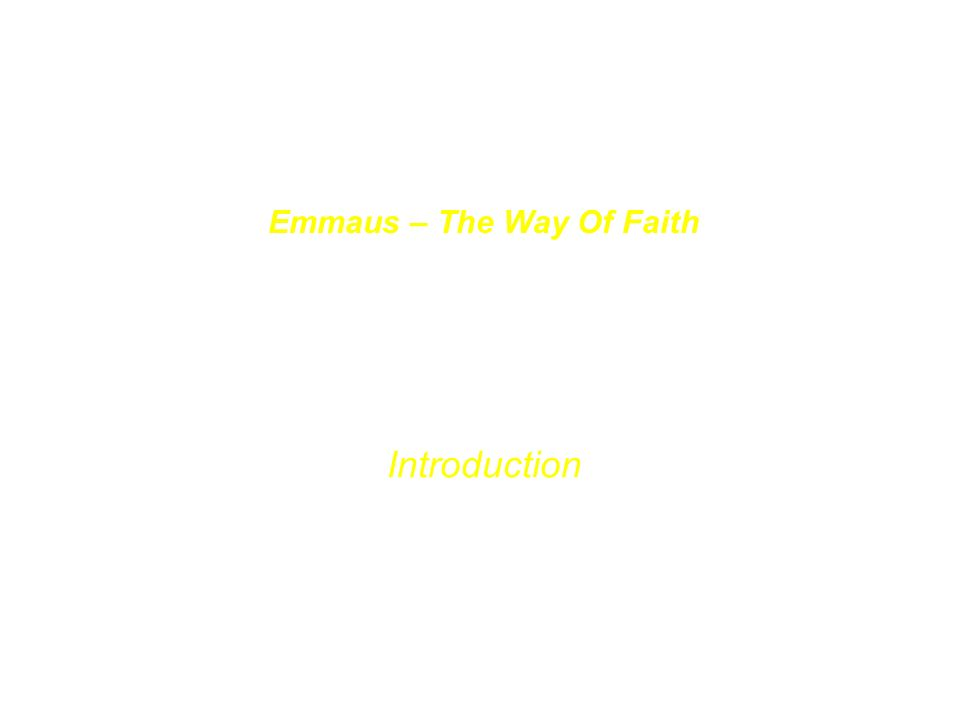 Der Basiskurs The Nurture Course Im Zentrum des Emmaus-Materials steht der Basiskurs, der Menschen zum Glauben führen will.