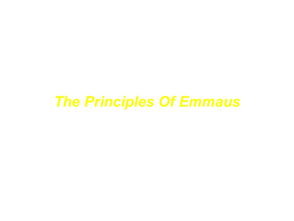 Emmaus 1