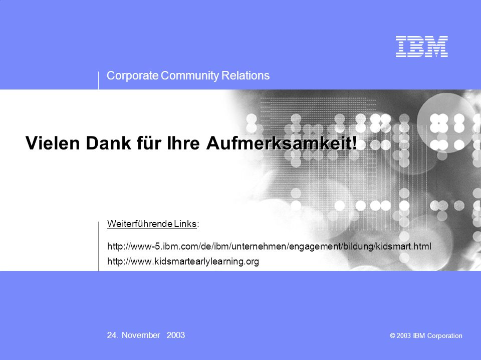IBM logo must not be moved, added to, or altered in any way.