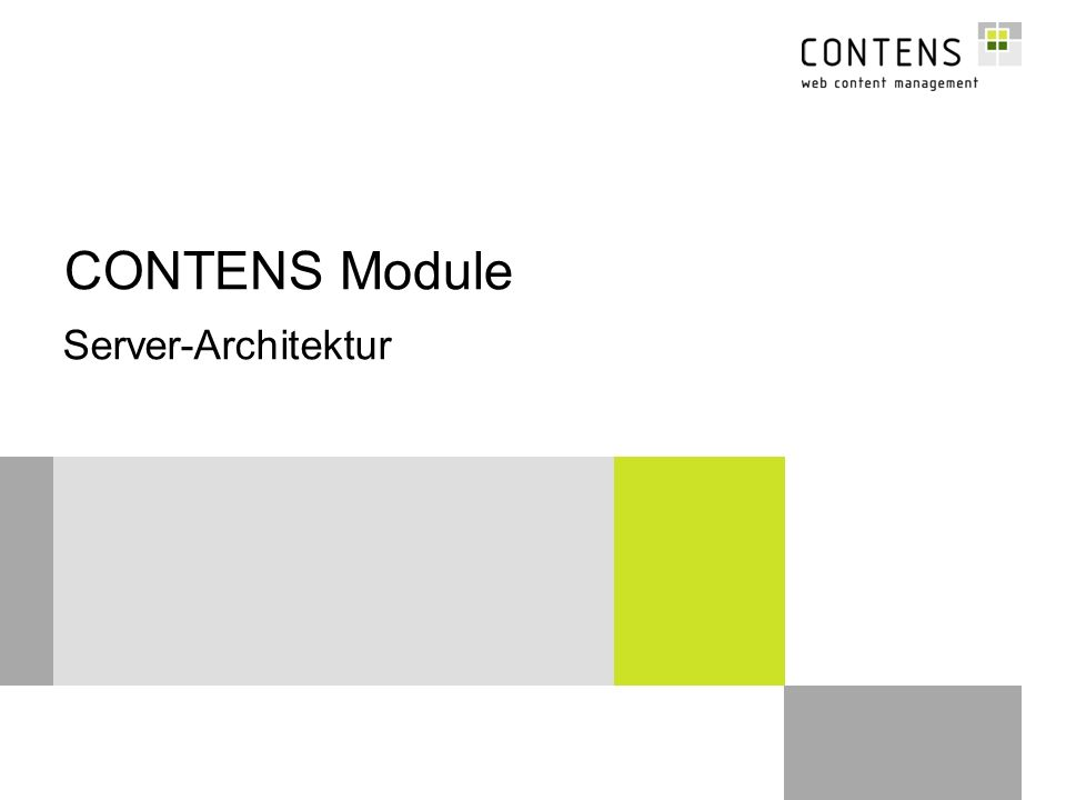 32 © CONTENS Software GmbH Datenübernahme-Template Module - Spezialprogrammierungen Das Import-Template soll die Redakteure bei Übersetzungsarbeiten unterstützen.