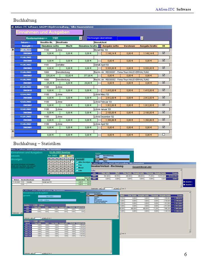 7 Geräte- und Maschinenverwaltung Angebotserstellung AAGen-ITC Software
