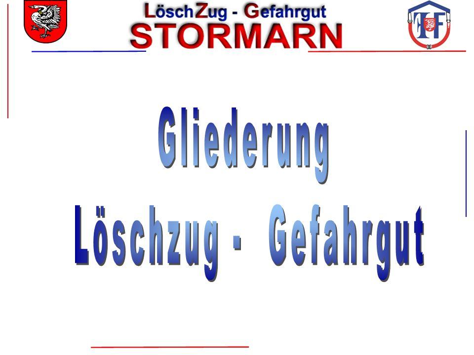 Löschzug Gefahrgut LZ-G Führungseinheit LZ-G Gefahrgut - Einsatz- komponente I Gefahrgut - Einsatz- komponente II 1 / 1 / 10 / 56 / 68 max.