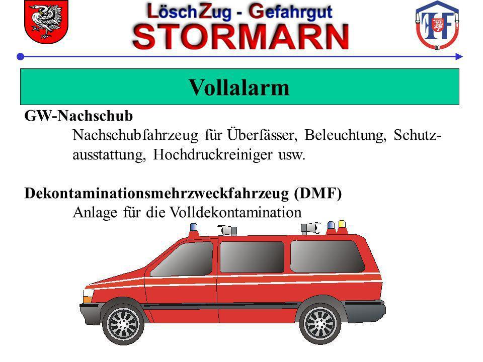 Vollalarm GW-Nachschub Nachschubfahrzeug für Überfässer, Beleuchtung, Schutz- ausstattung, Hochdruckreiniger usw. Dekontaminationsmehrzweckfahrzeug (D