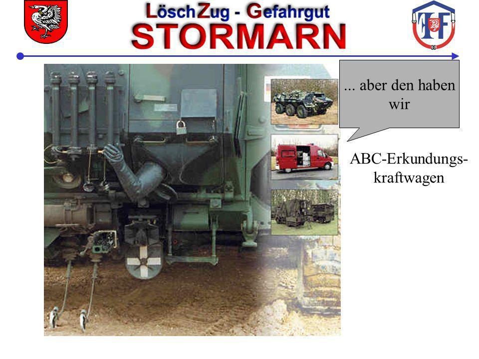 Vollalarm Neben ELW, Reaktorerkunder und GW-Dekon...