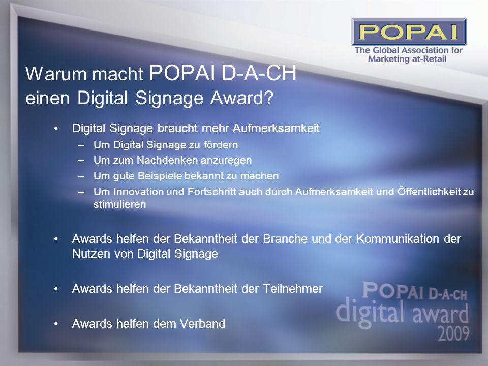 2 Warum macht POPAI D-A-CH einen Digital Signage Award.