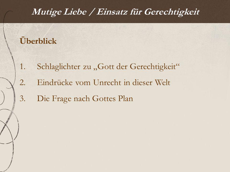 Mutige Liebe / 1.