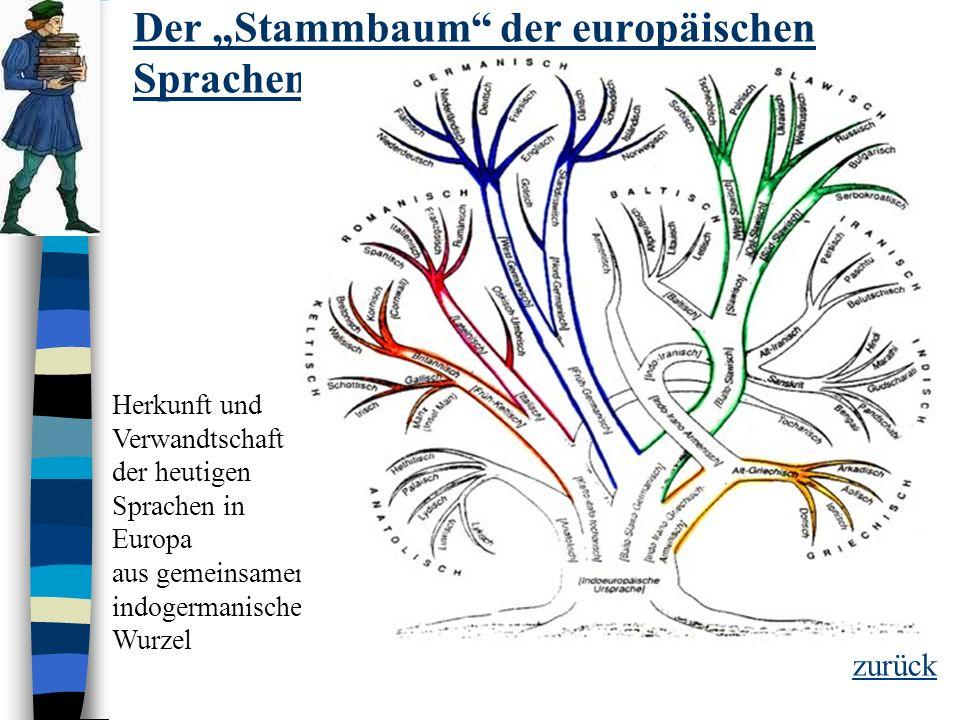 Indogermanisch: -auch Indoeuropäisch genannt -Das Ur-Indogermanische ist schätzungsweise 5000 - 3000 v.Chr. entstanden -über sein Ursprungsgebiet gibt