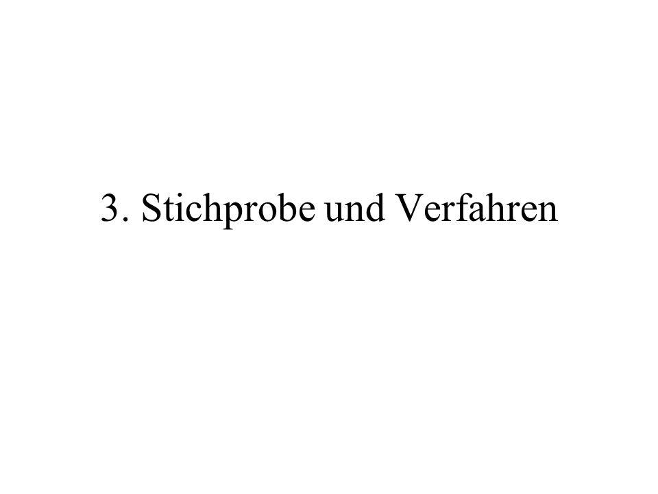 3. Stichprobe und Verfahren