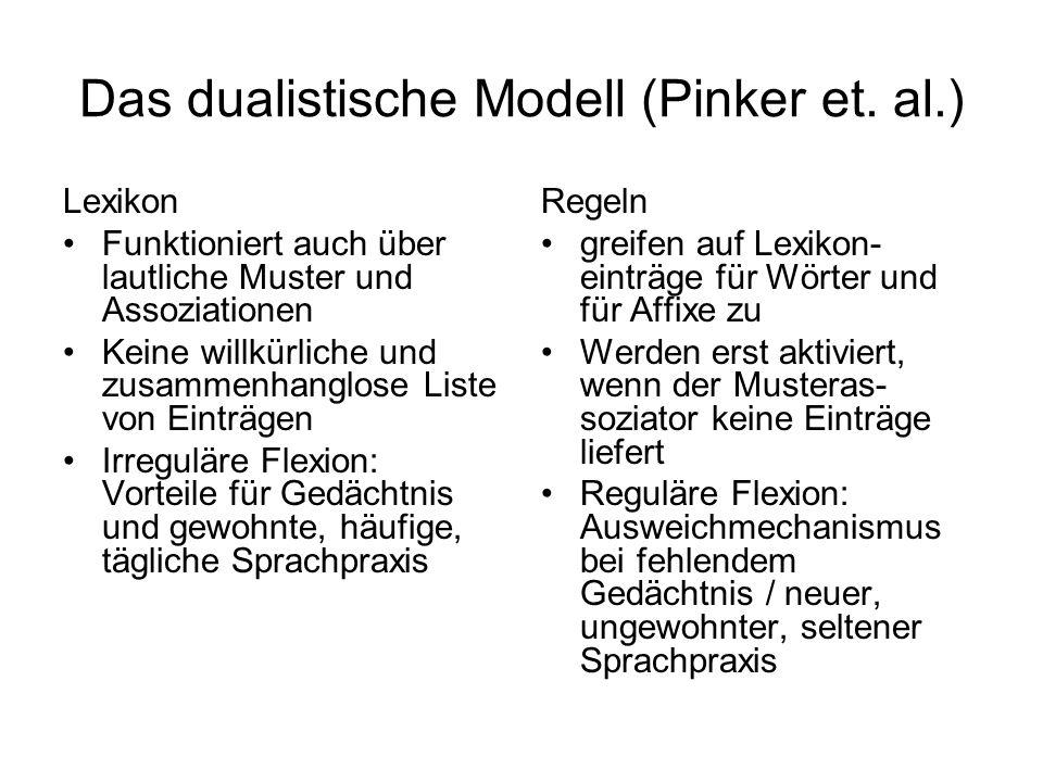 Das dualistische Modell (Pinker et.