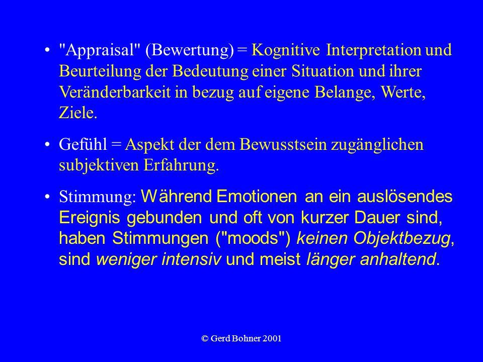 © Gerd Bohner 2001