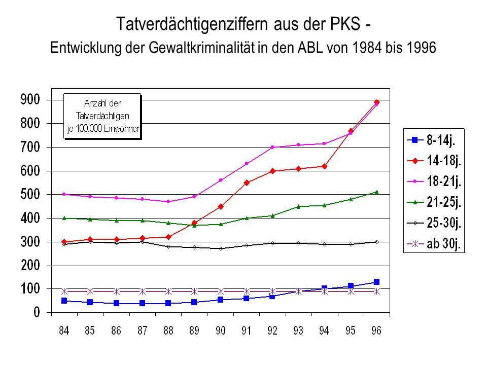 Mikro-Systeme Schule Elternhaus Peers Medien Gewalt- bereitschaft / Gewalttätiges Handeln Makro-System vorherrschende Werte / Ideologien (z.B.
