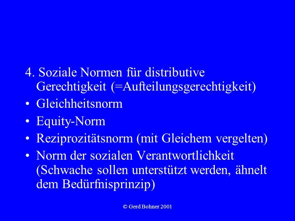 © Gerd Bohner 2001 4.
