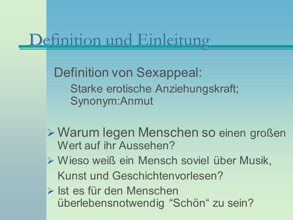 Merkmale schöner Gesichter: Exkurs Quelle: http://www.uni-regensburg.de/Fakultaeten/phil_Fak_II/Psychologie/Psy_II/beautycheck/ http://www.heise.de/tp/deutsch/special/auf/9790/1.html http://www.uni-saarland.de/fak5/ronald/dhome.htm