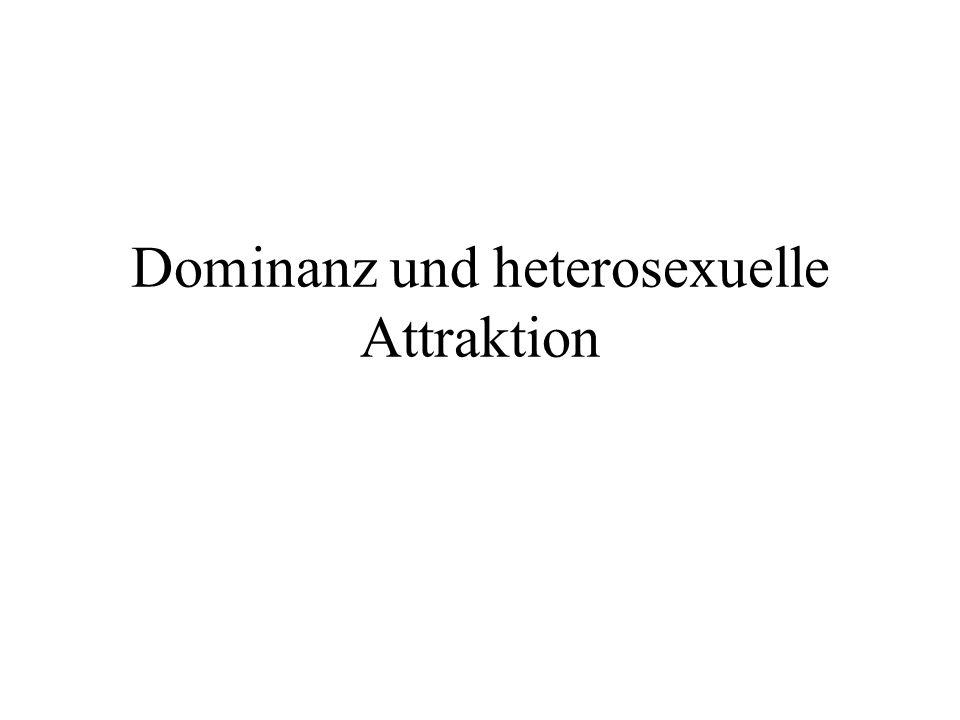 Dominanz und heterosexuelle Attraktion