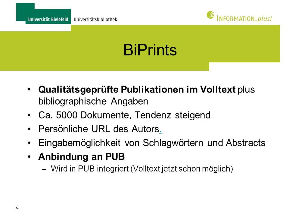 15 Dissertationen, Habilitationsschriften und andere Bielefelder Abschlussarbeiten
