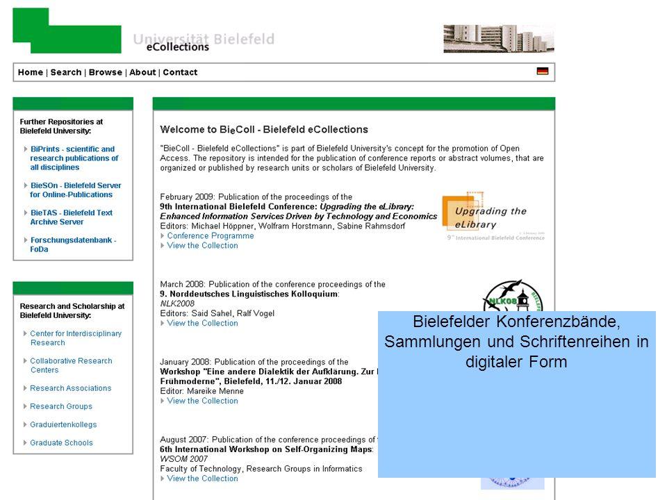 17 Übersicht Vorstellung Publikationsdienste –Publikationenserver –Open Access Publikationsfonds –Zeitschriftenplattform –Publikationslisten-Management –Weitere Dienste Ausblick