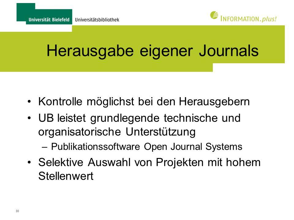 31 Beispiele für Journals In Kooperation mit Verlag (Lucius & Lucius) * 1971-2010 / mehrere 1000 Artikel Von Graduiertenschule in der Exzellenzinitiative