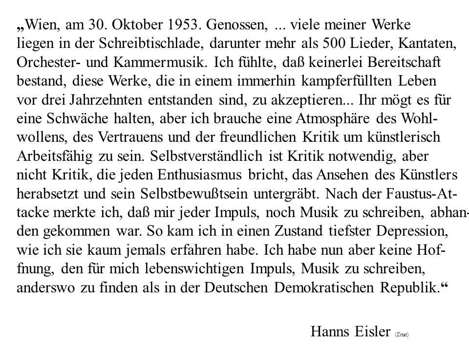 Wien, am 30.Oktober 1953. Genossen,...