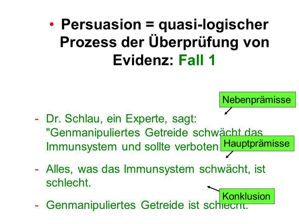 -Dr. Schlau, ein Experte, sagt: