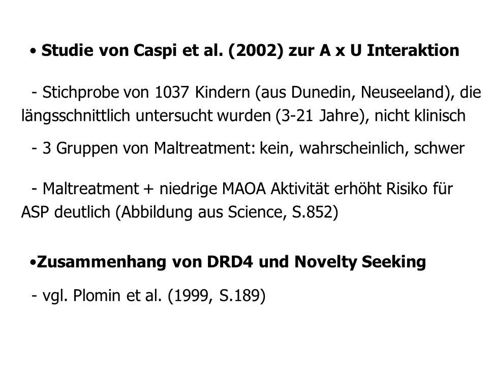 Studie von Caspi et al.