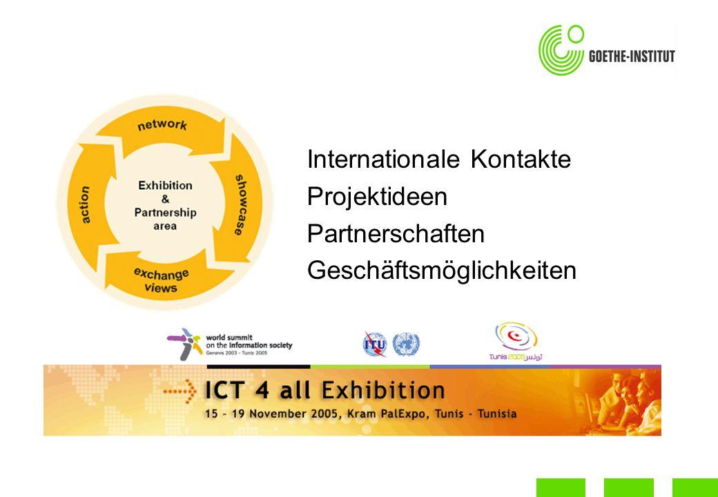 Internationale Kontakte Projektideen Partnerschaften Geschäftsmöglichkeiten