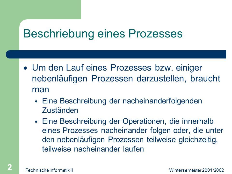 Wintersemester 2001/2002Technische Informatik II 3
