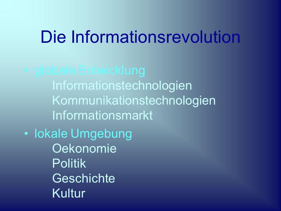 Der Weg nach Vorne innovative Industrie- offene Informations- lernende Wissens- globale (Multi)Kultur- Gesellschaft