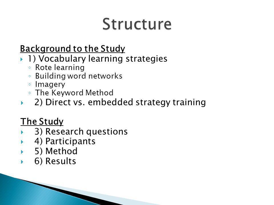Reflektion zu den Lernstrategien für Vokabeln Dieses Blatt soll dir helfen einmal über die verschiedenen Wege des Wörter-Lernens, die wir uns angeschaut haben, nachzudenken.