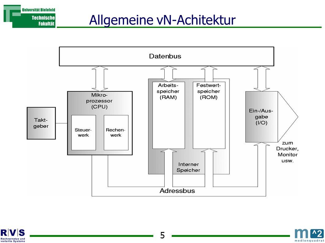 5 Allgemeine vN-Achitektur