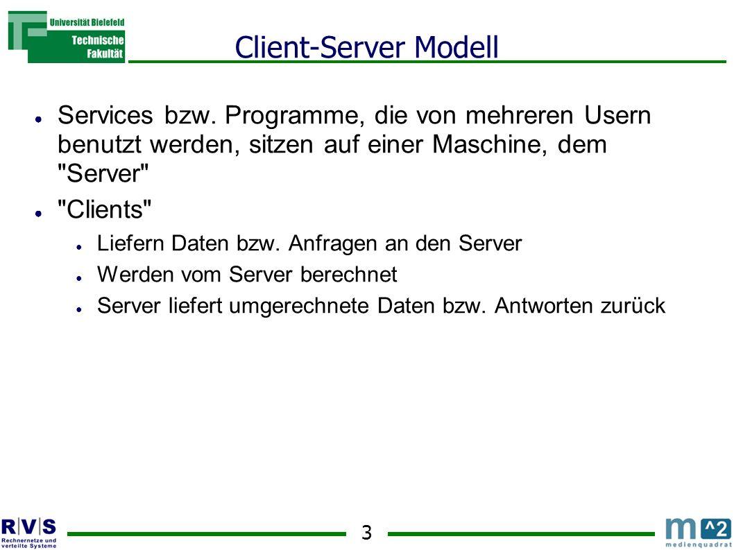 4 Client-Server Modell