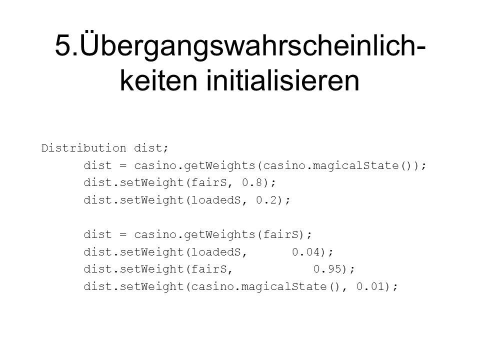 Dynamische Programmierung Was fehlt.