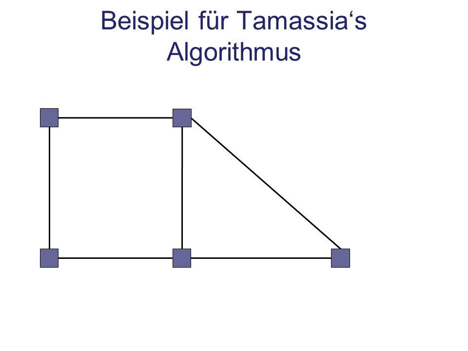 Beispiel für Tamassias Algorithmus