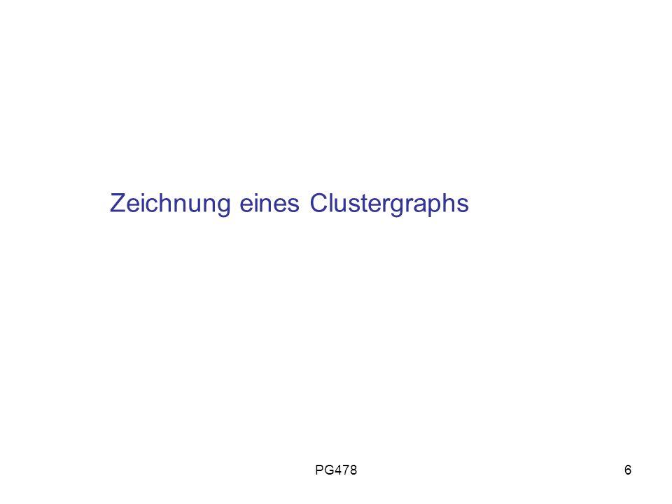 PG4786 Zeichnung eines Clustergraphs